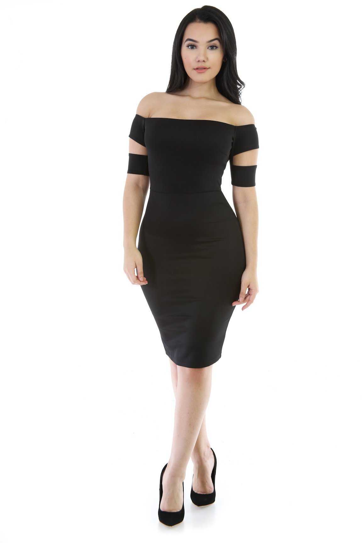 This Is Me Strapless Bodycon Dress
