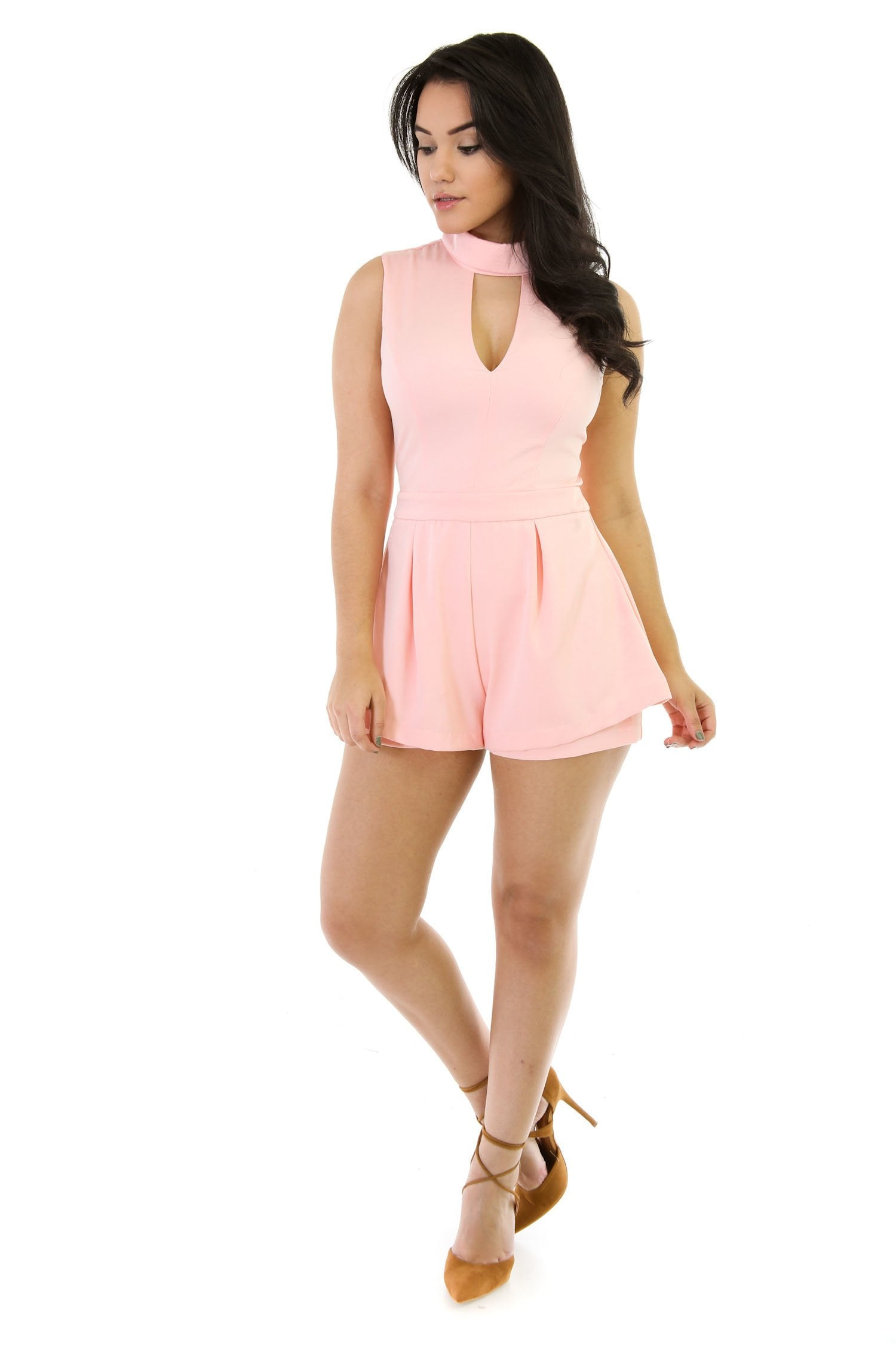 Mistiff Mock Romper