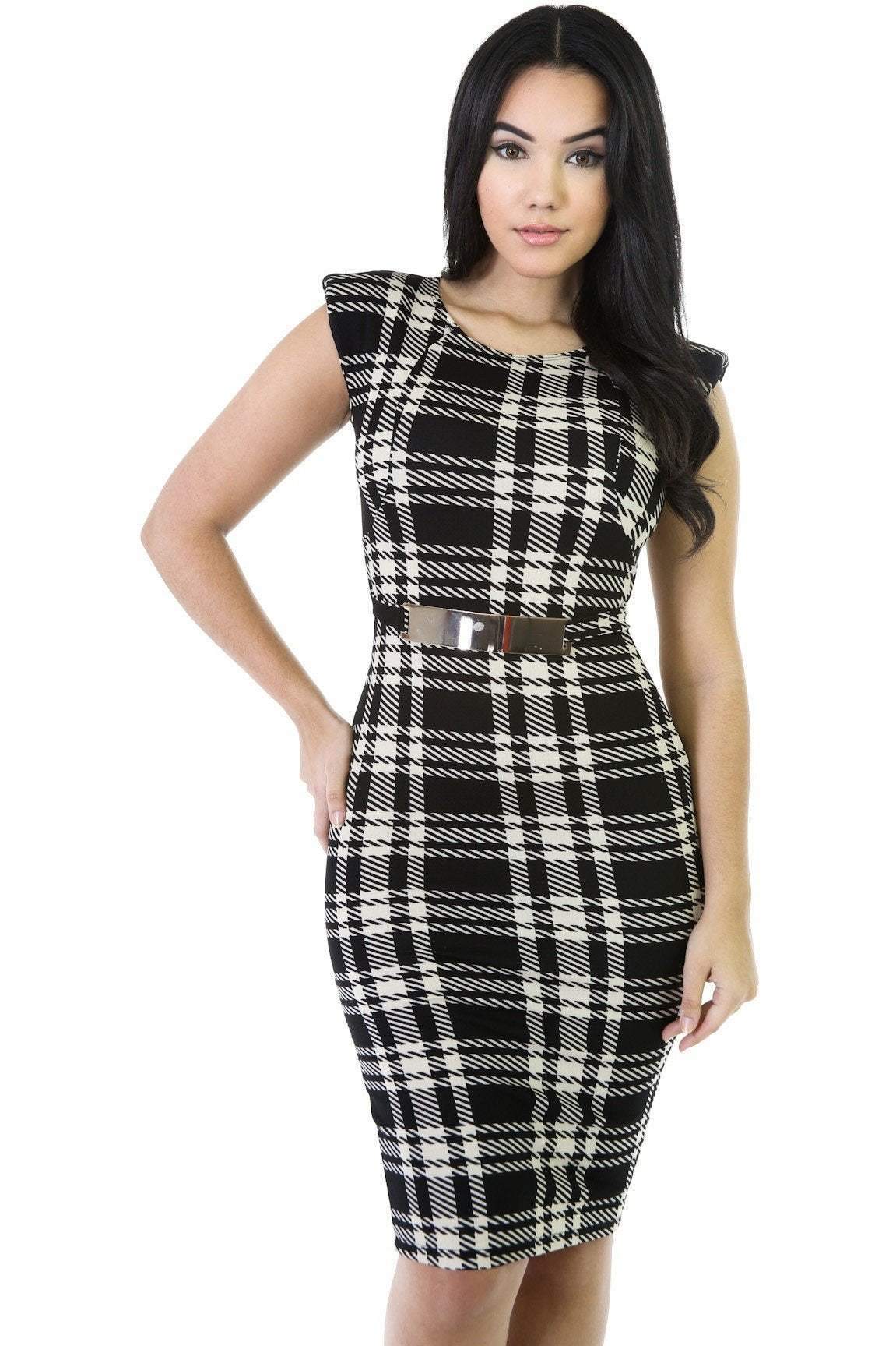 Plaid Design Dress II