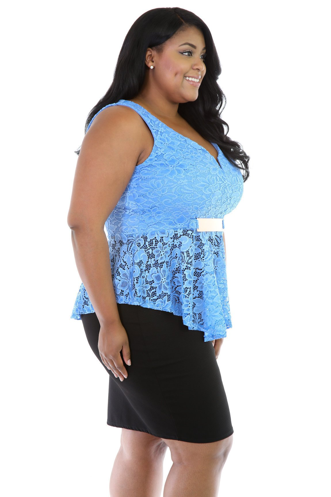Laced Flair Top