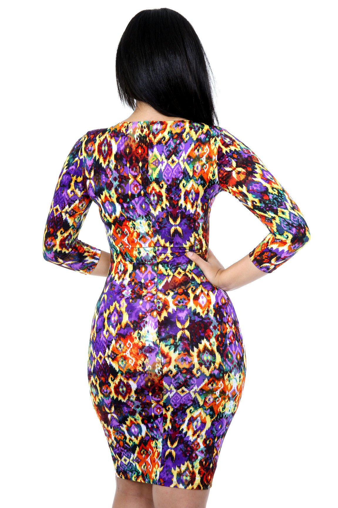 Firework Gala Bodycon Dress