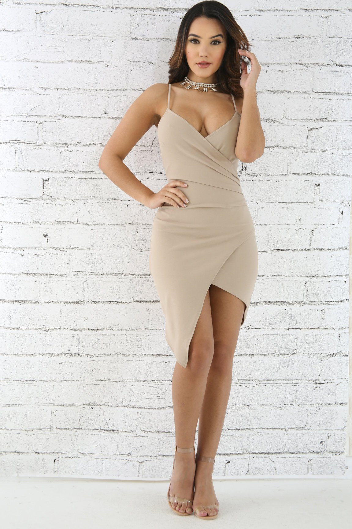 Overlay Bodycon Dress