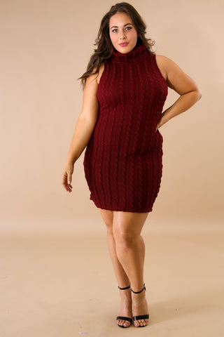 Jersey Knit Mini Dress