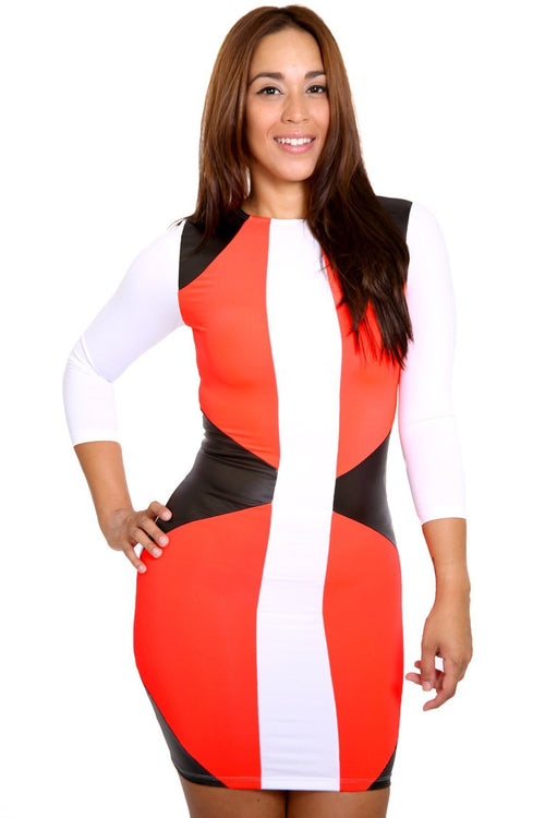 Curves Ahead Bodycon Dress