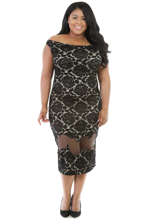 All Over Knit Sexiness Dress