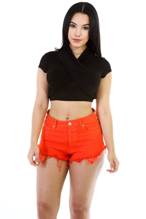 T-Top Stretchy Crop Top
