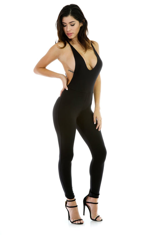 Tighten Up Stretchy Jumpsuit
