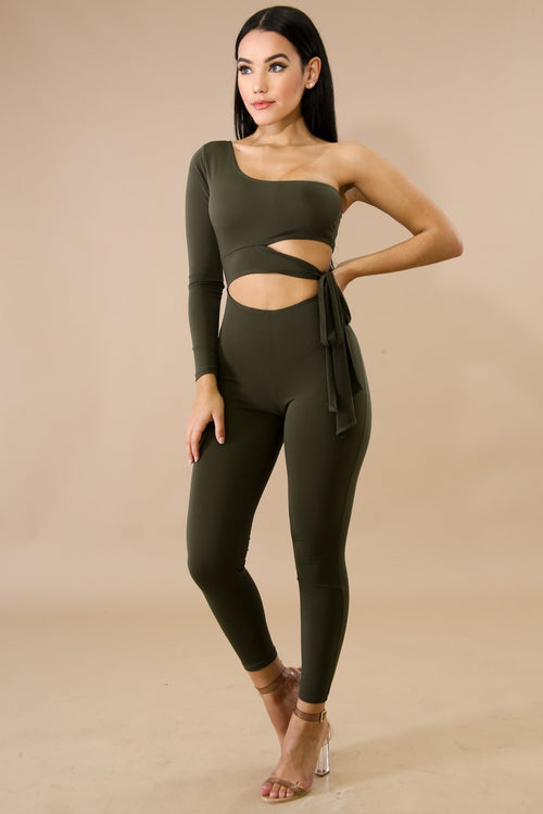 Tie Side Jumpsuit