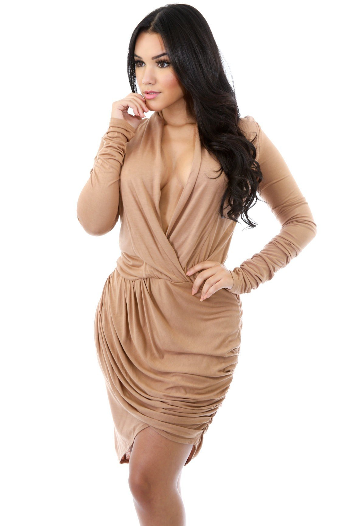 Drape Queen Dress