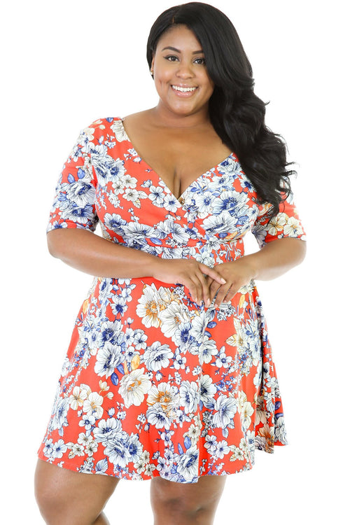Flare Blossom Dress