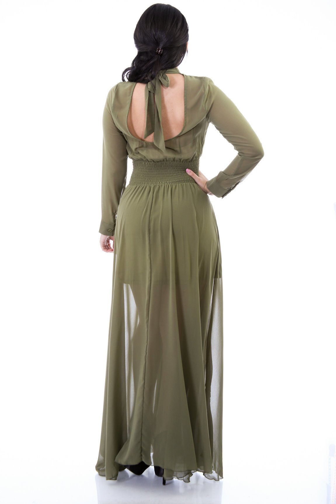 Active Chiffon Maxi Dress