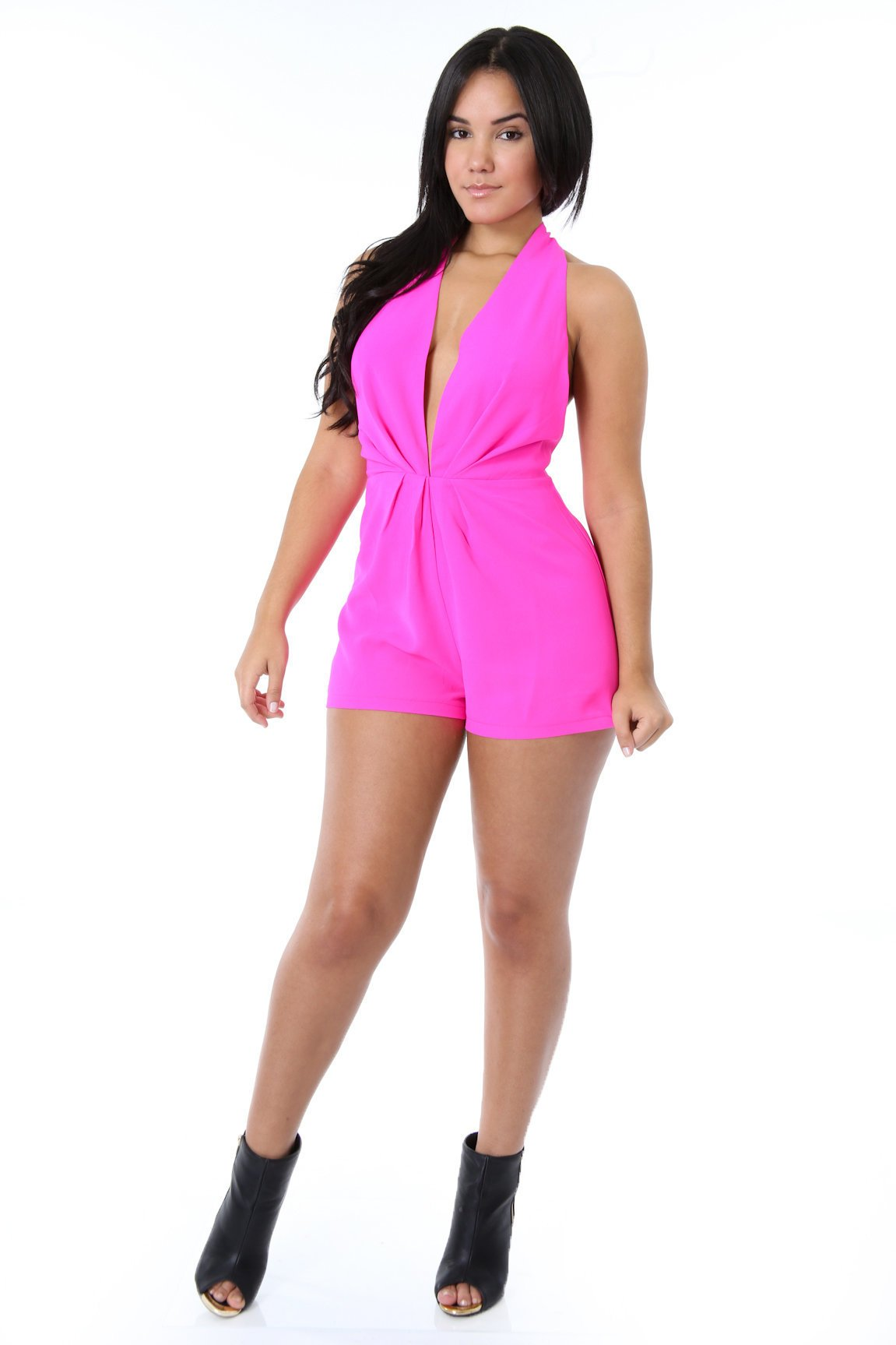 Flirty Flair Romper