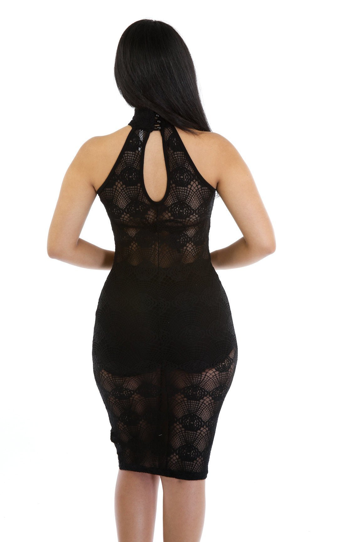 Picture Me in Lace Dress