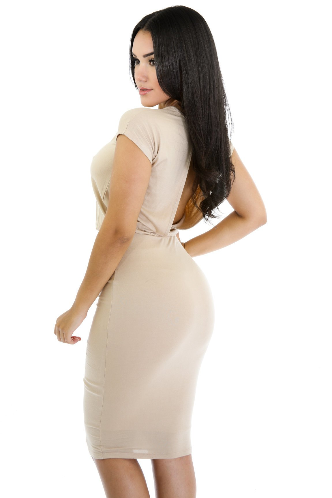 Beauty Open Back dress