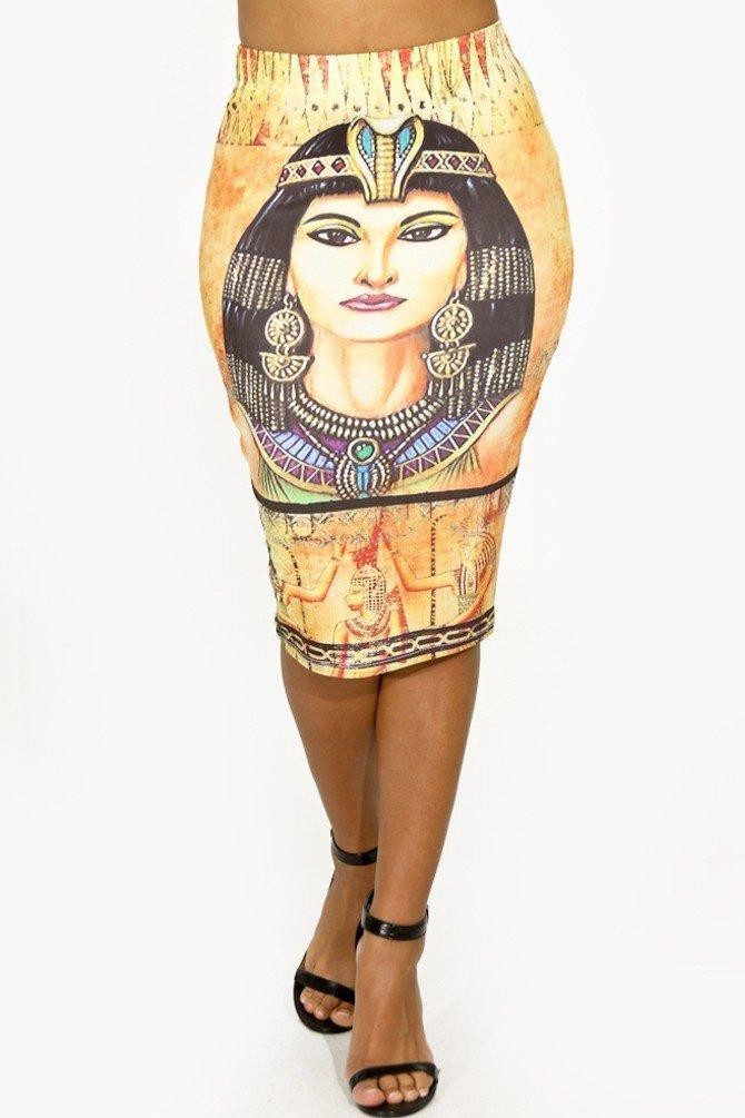 Cleopatra Pencil Skirt