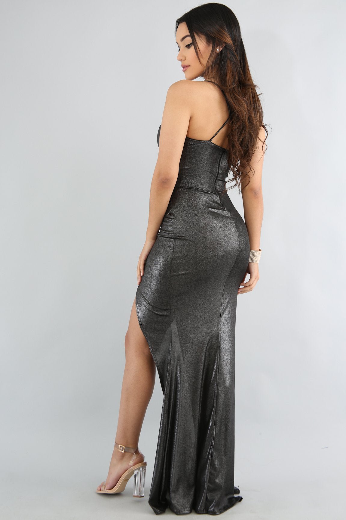 Shinny Maxi Dress