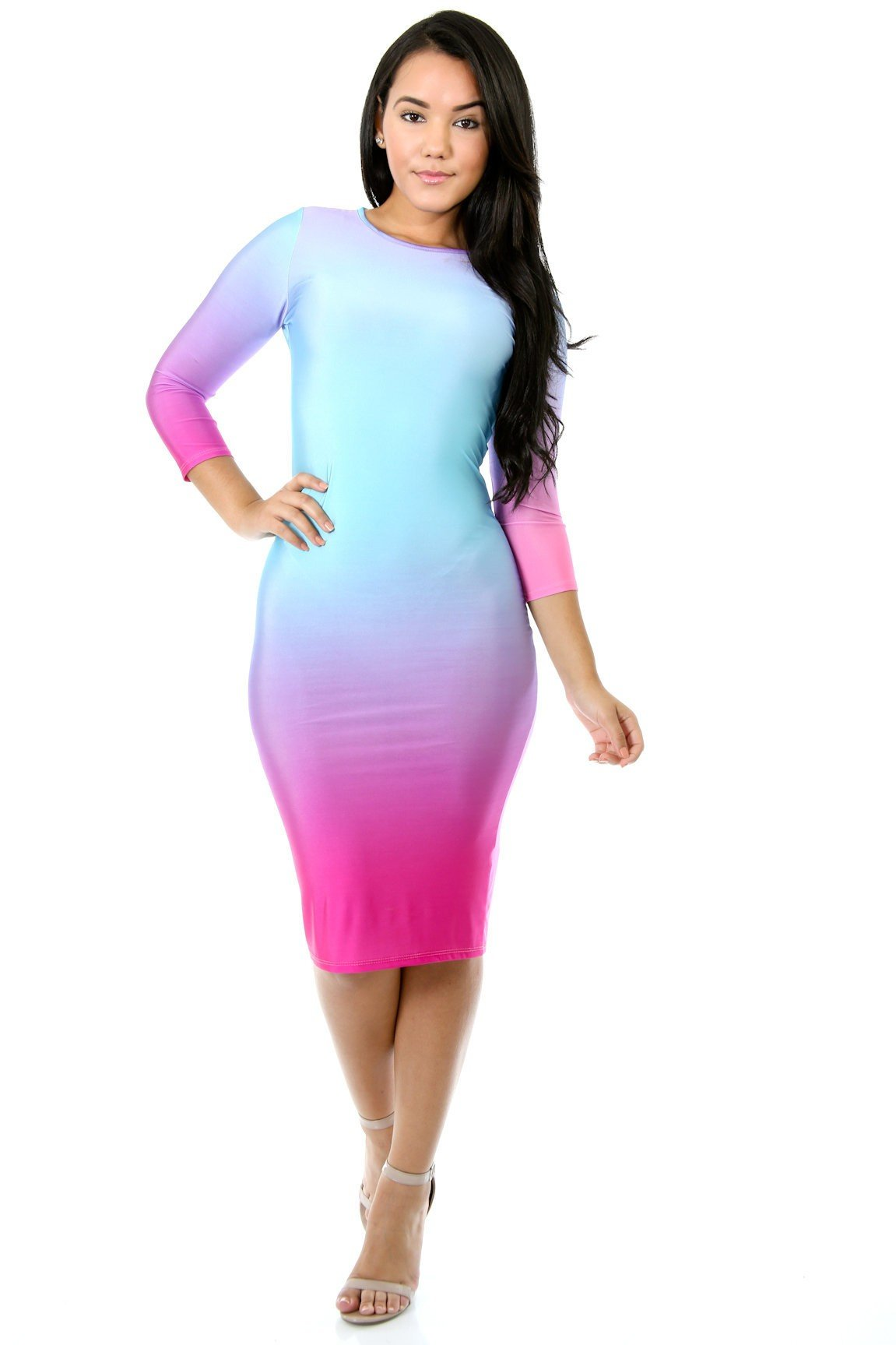 Fade Color Dress