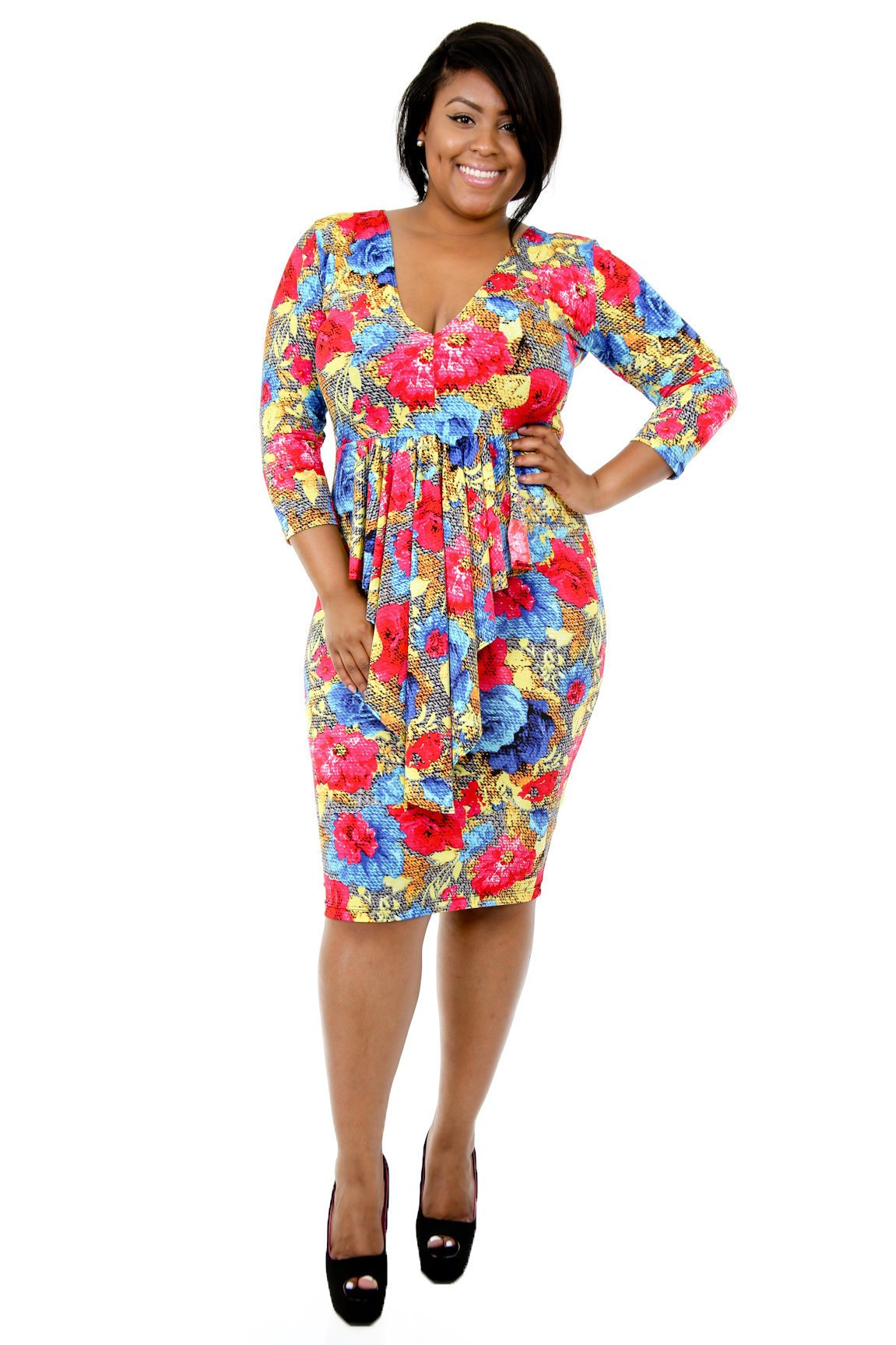 Flora Kiss Bodycon Dress