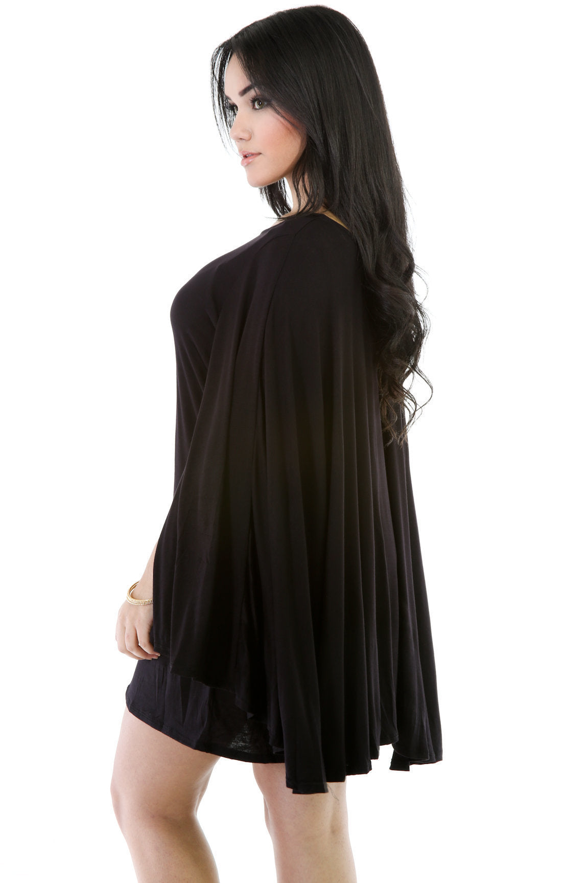 Poncho Top Dress