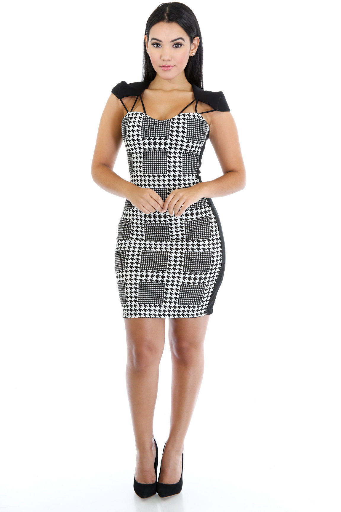 Checkered Patterned Dress