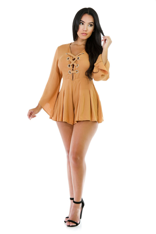 Lizzy Rope Loose Romper