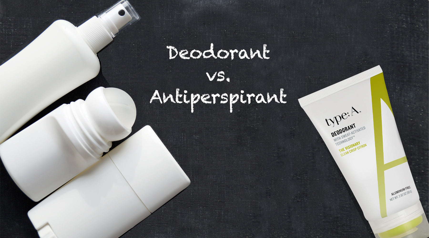 deodorant vs. antiperspirant difference between deodorant and antiperspirant