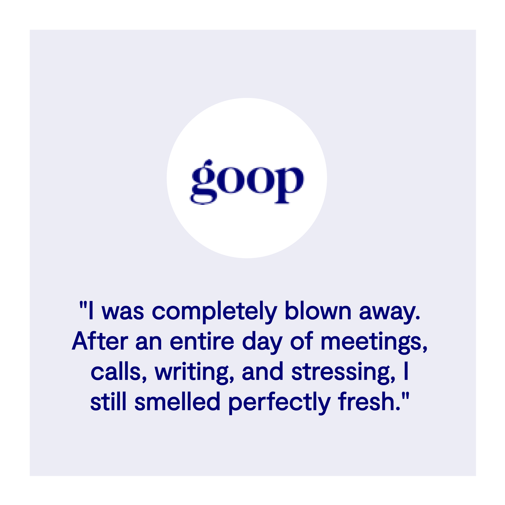goop best aluminum free deodorant testimonial reviews