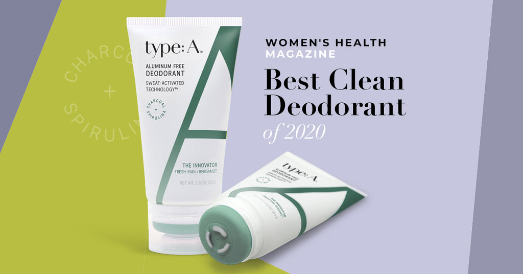 2020 Clean Deodorant of the Year