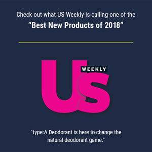 type:A best aluminum-free deodorant US Weekly