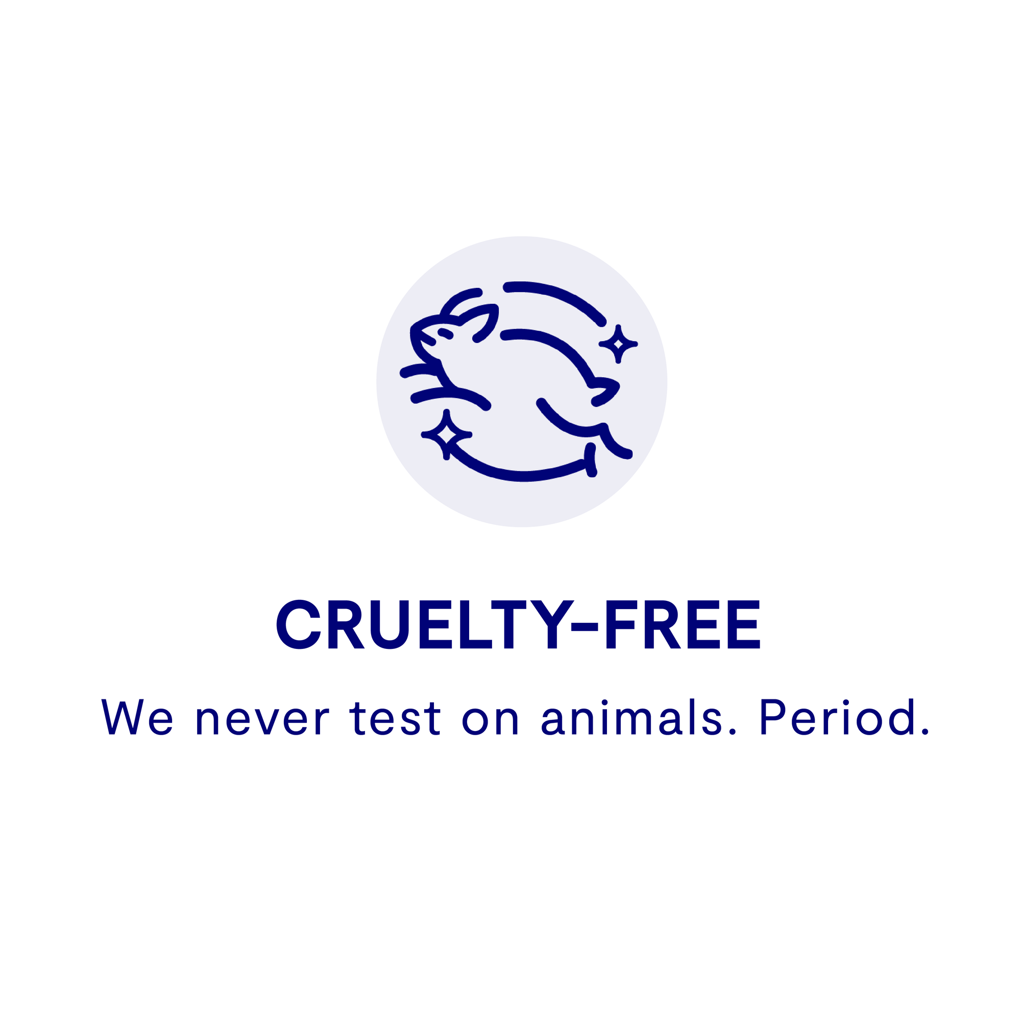 Cruelty free deodorant, leaping bunny certified