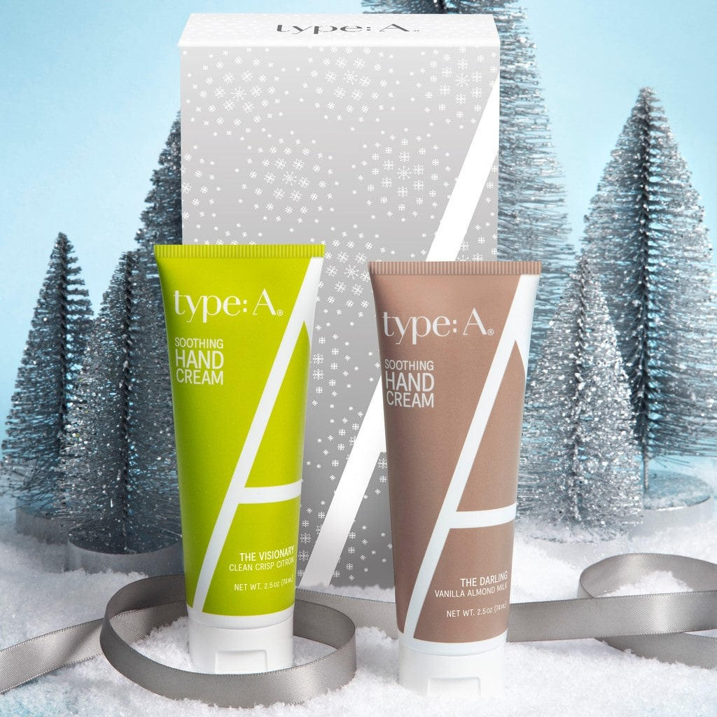 Moisturizing hand cream holiday gift set best hand cream citron and vanilla almond scent