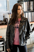 Harley-Davidson® Womens Wild Distressed Leather Biker Jacket - 98017-18Vw Casual Jackets