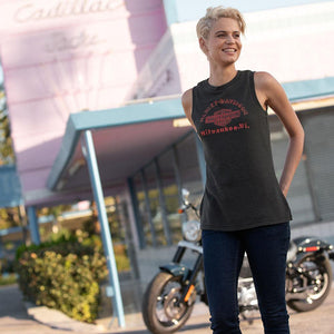Harley-Davidson® Womens Classic Graphic Muscle Tee - 99262-19Vw T-Shirts