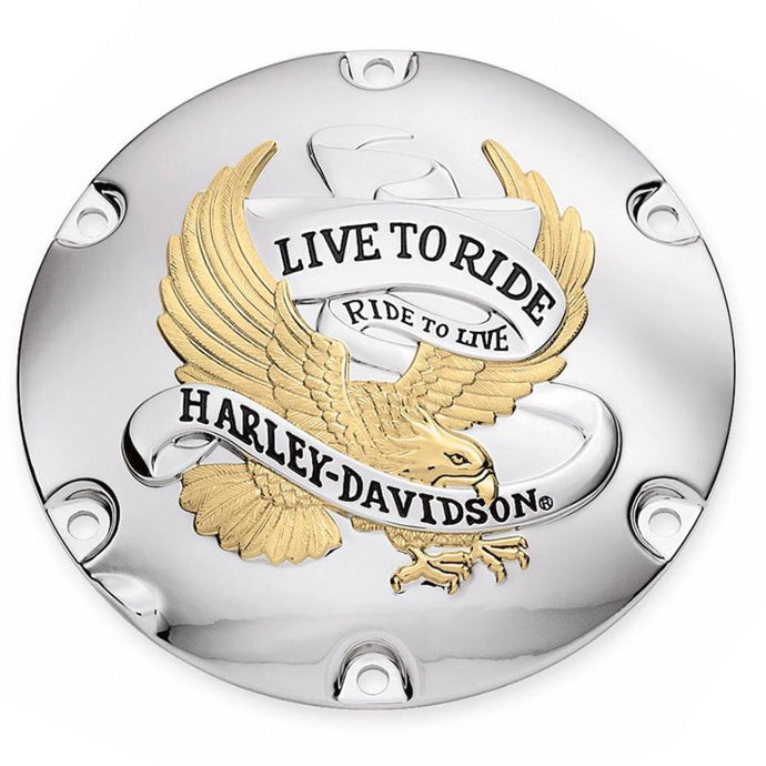 Harley-Davidson Live To Ride Derby Cover - 25127-04A