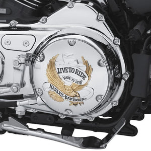 Harley-Davidson® Live To Ride Derby Cover - 25127-04A Parts & Accessories