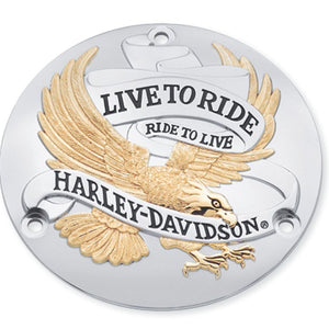 Harley-Davidson Live To Ride Derby Cover - 25391-90T