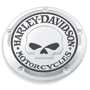 Harley-Davidson Willie G Skull Derby Cover - 25441-04A