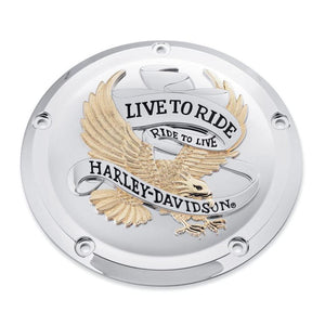 Harley-Davidson Live to Ride Derby Cover - 25700472