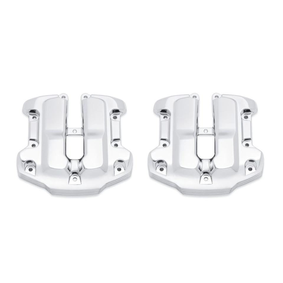 Harley-Davidson Defiance Upper Rocker Covers - Chrome - 25700663