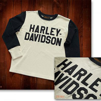 Harley-Davidson® Museum Mens Race Jersey Long Sleeve Tees