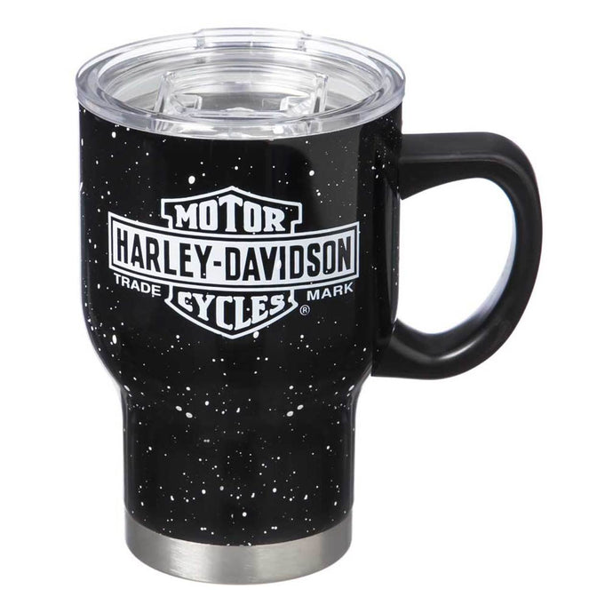 Harley-Davidson® Double Wall Stainless Steel Travel Cup w/ Handle, 0.65L