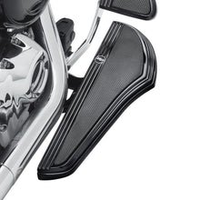 Harley-Davidson® Defiance Rider Footboard Kit - Black Anodized 50500799 Parts & Accessories