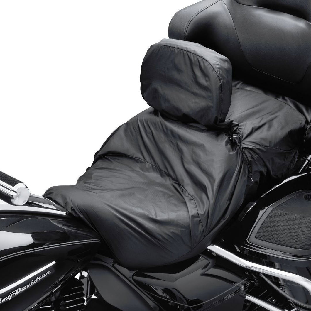Harley-Davidson® Touring Seat Rain Cover With Rider Backrest Covers & Storage Accessories