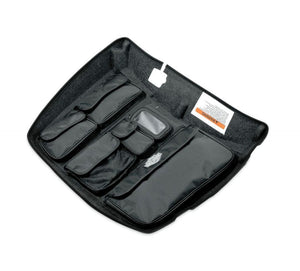 Harley-Davidson® Tour-Pak Lid Fitted Lining With Organizer - Gray 53000302 Parts & Accessories