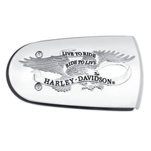 Harley-Davidson H-D Live To Ride Air Cleaner Trim - 61300219