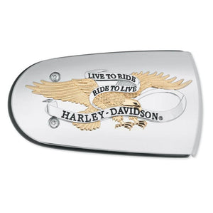 Harley-Davidson H-D Live To Ride Air Cleaner Trim - 61300220