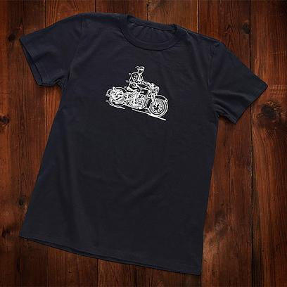 Harley-Davidson® Museum Mens Enthusiast Black Tee T-Shirts
