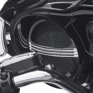 Harley-Davidson® Defiance Batwing Fairing Speaker Grills - 76000687 Parts & Accessories