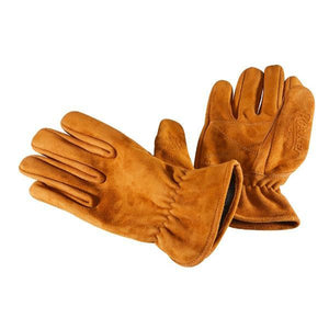 Rokker Glove Nubuck Brown Gloves