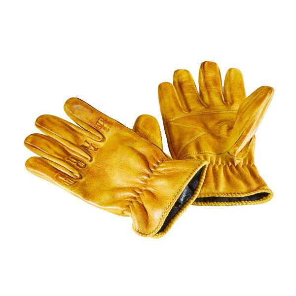 Rokker Glove Ride Hard Natural Yellow Gloves